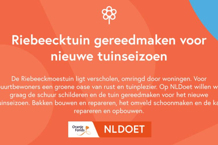 Groen doen tijdens NL Doet