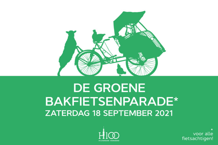 De Groene Bakfietsenparade